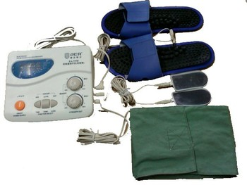2017 Tens Pulse Muscle Stimulator QuickResult therapeutic apparatus.Electrical stimulation Acupuncture therapy Device 110V 220V