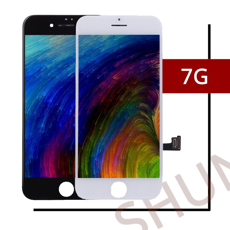 Digitizer-Assembly-Replacement Lcd-Display White iPhone 7 Touch-Screen Black for Free-Dhl