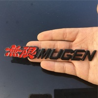 fit עבור הונדה crv 3D אלומיניום Mugen Power סמל Chrome לוגו אחורי תגים רכב Trunk מדבקה לרכב-סטיילינג עבור הונדה סיוויק אקורד CRV Fit (1)
