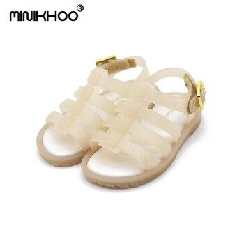 Jelly Melisa Zapatos Niños Transpirable Sandalias 2018 Flox Romanos Niñas Hueco Mini Romanas wXnPk80NO