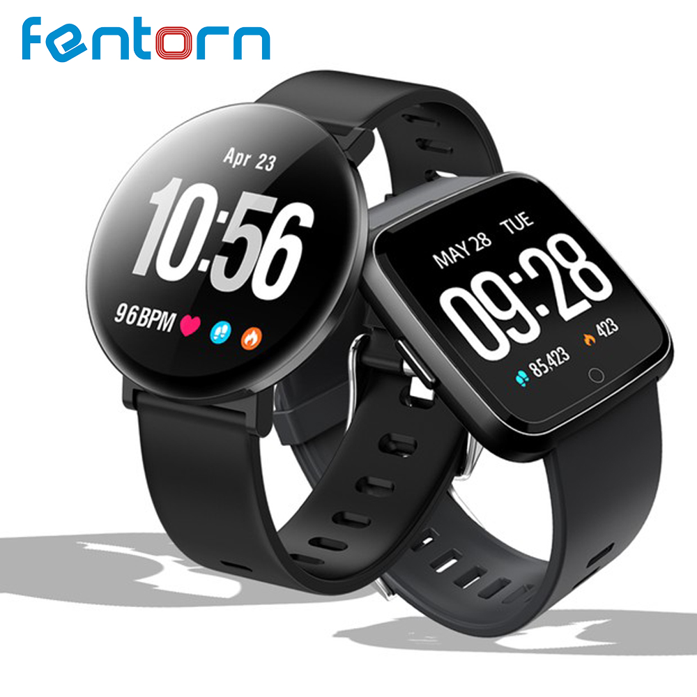 Fentorn Smart watch IP67 Waterproof Heart Rate Blood Pressure monitor Activity tracker Fitness Bracelet Smartwatch for Men women colmi v11 smart watch ip67 waterproof tempered glass activity fitness tracker heart rate monitor brim men women smartwatch