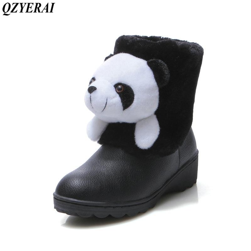 ce73aa476956a Calore bianco Studente Panda Di Qzyerai Donna Il Da Femminili Vendita  Inverno Caldo Neve Scarpe Nero ...