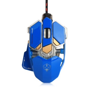 Wired Macros Gaming Mouse Computer 4000 DPI 10 Buttons Backlit Optical Gamer Mice Mechanical Ergonomic PC Desktop Peripherals 6