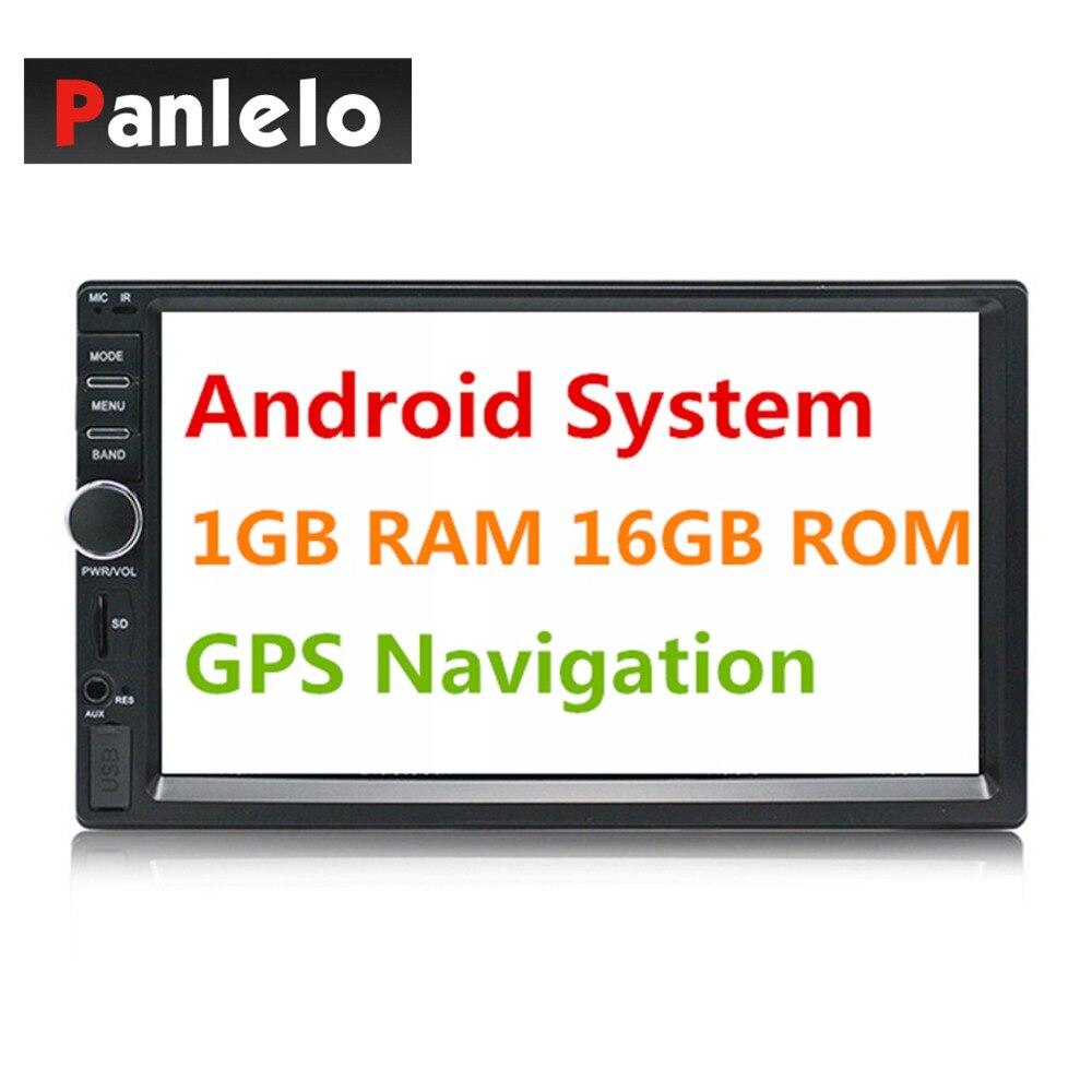 2 Din Android gps навигация автомобильный стерео 7 600*1024 сенсорный экран 1 ГБ + ГБ 16 Гб Авторадио Wi-Fi Bluetooth FM USB автомобильный аудио