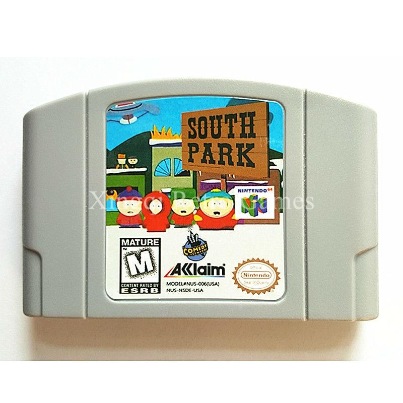 Nintendo N64 Game South Park Video Game Cartridge Console Card English Language US Version
