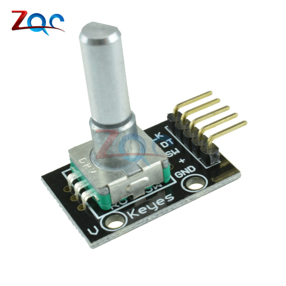 1pcs Rotary Encoder Module Brick Sensor Development for Arduino KY-040 free shipping hot sales rotary encoder module brick sensor development board for arduino