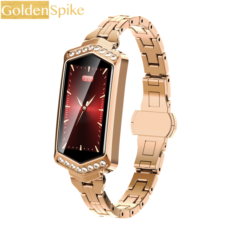 Luxury Smart Wristband For Women Sport Fitness Tracker