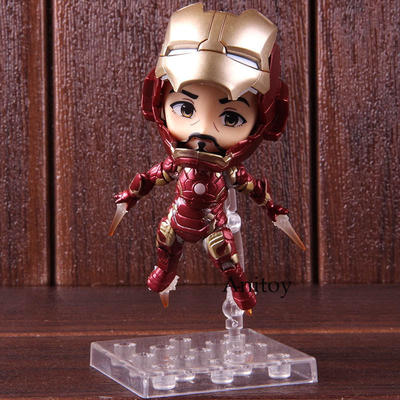 Avengers Infinity War Action Figure Iron Man Mark 43 Heros Edition Collectible Model Toy Gift For Kids