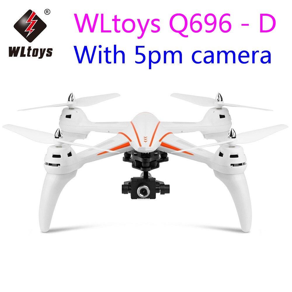 Original WLtoys Q696-D Q696 5.8G FPV 1080 P Caméra 2-axe Cardan Air Presse Maintien D'altitude RC Quadcopter