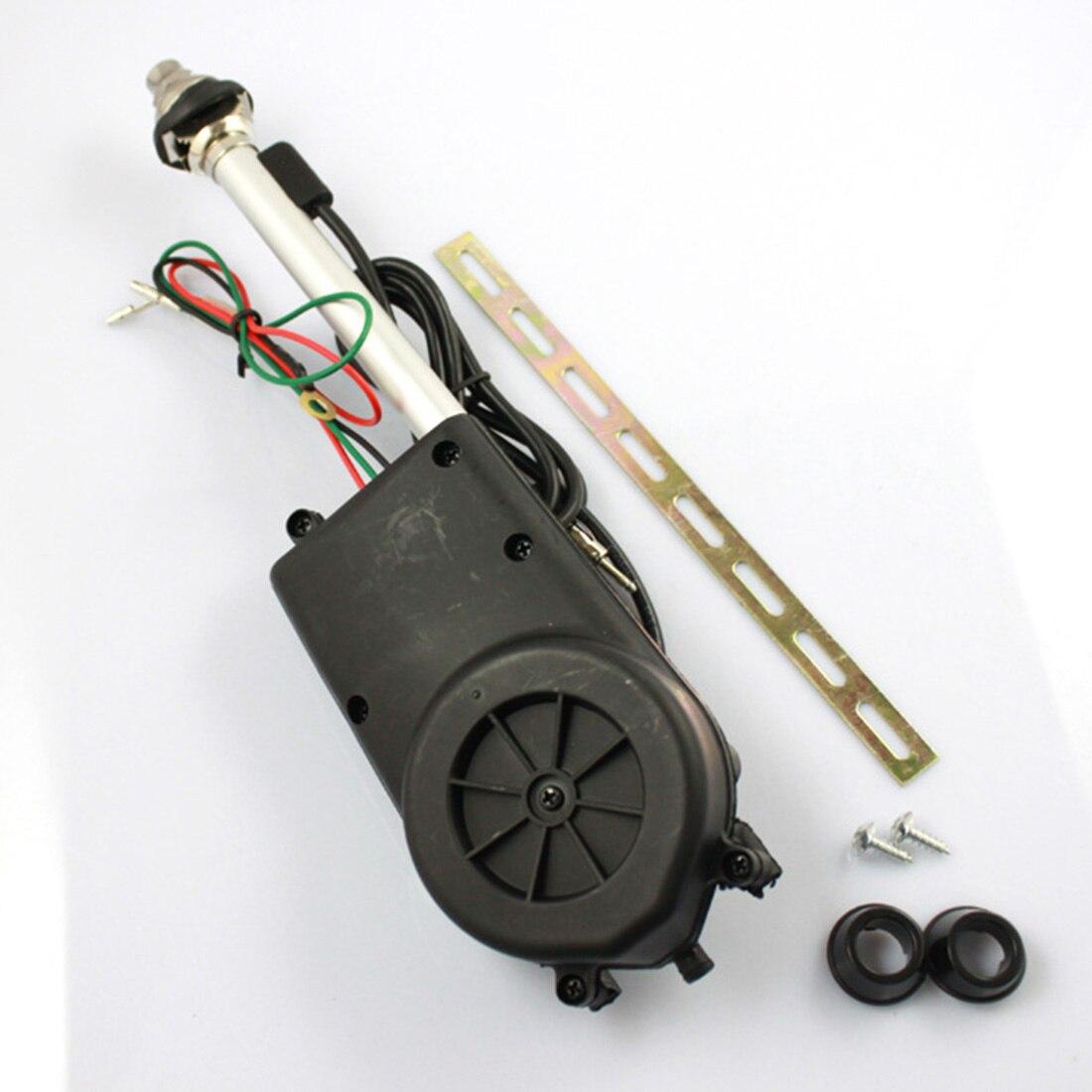 Marsnaska Universal Car Antenna Electric Power Antenna Replacement Kit  Vehicle Am Fm Radio Mast Aerial Car Accessories
