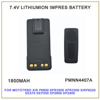 PMNN4407ARC MOTOTRBO IMPRES LITHIUM ION 1800mah Battery For Motorola MOTOTRBO XiR P6600 XPR3500 XPR3300 XiR P6620 DP2600 DE570
