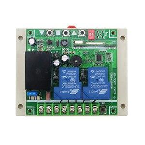 Image 4 - AC220V 250 V 380 V 30A 2CH 100 מתג שליטה מרחוק ארוך טווח 3000 m משדר + מקלט עבור דלת מוסך שער מכשירי חשמל