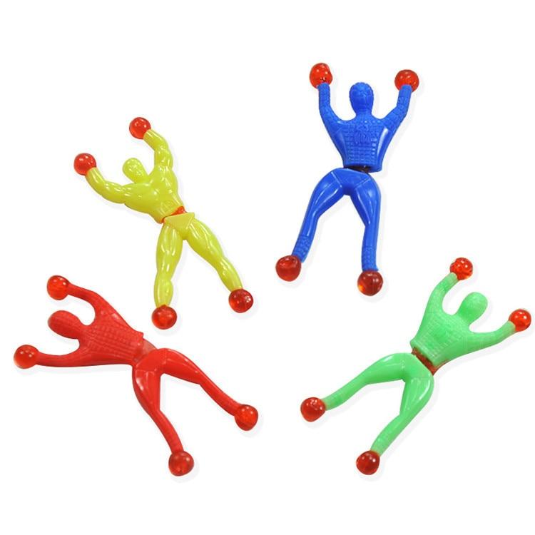 Strange New Creative Toys Climbing Spider-Man Somersault Magic Sticky Climbing Climbing Superman Spiderman People