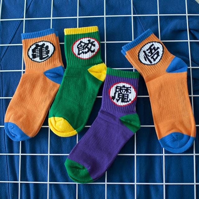 Unisex Dragon Ball Socks