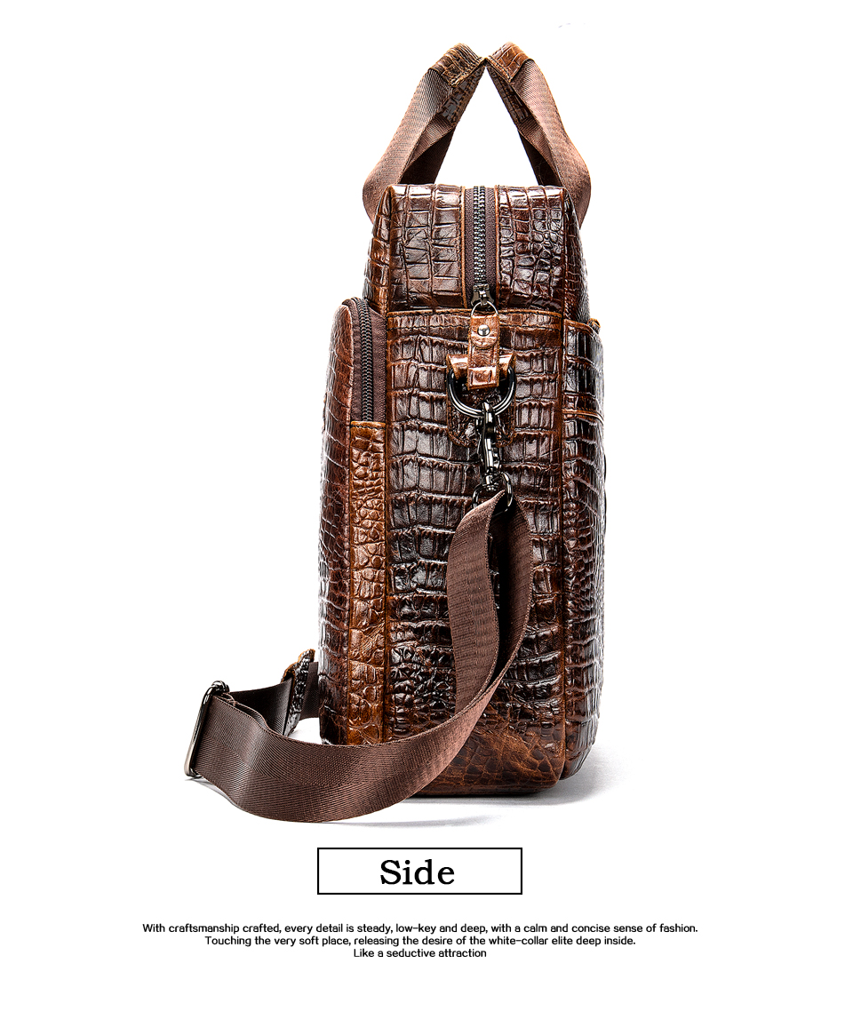 HTB1C9zvXa1s3KVjSZFtq6yLOpXap MVA Male briefcase/Bag men's genuine leather bag for men leather laptop bags office bags for men Crocodile Pattern handbag 5555