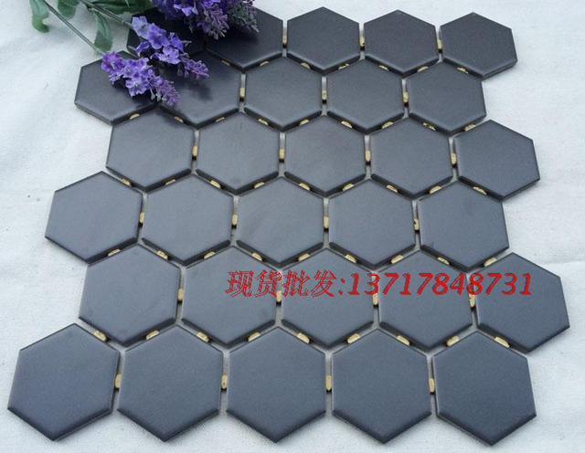 Esagonale piastrelle di mosaico in ceramica balcone bagno cucina