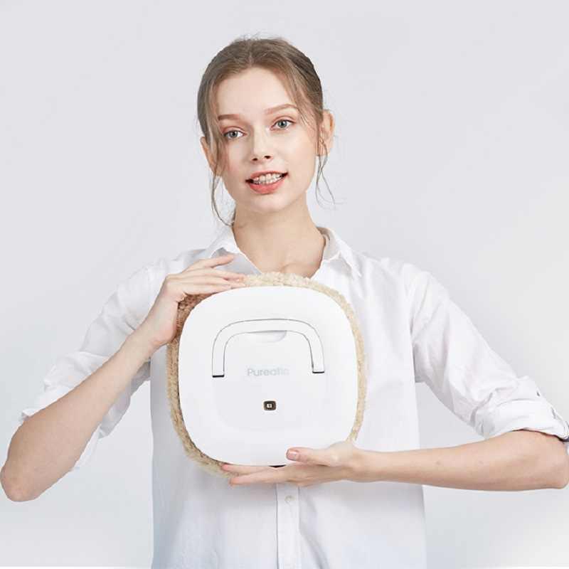 2019 новейший Интеллектуальный робот для уборки мокрого и сухого использования 2 цвета USB электрический пылесос робот с бесплатными Mops аспиратор