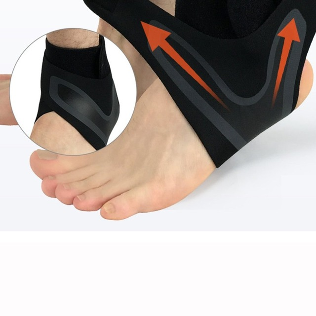 Hewolf 1PCS Fitness Adjustable D-Ring Ankle Straps Foot Support Ankle Protector Gym Leg Pullery with Buckle Sports Feet Guard