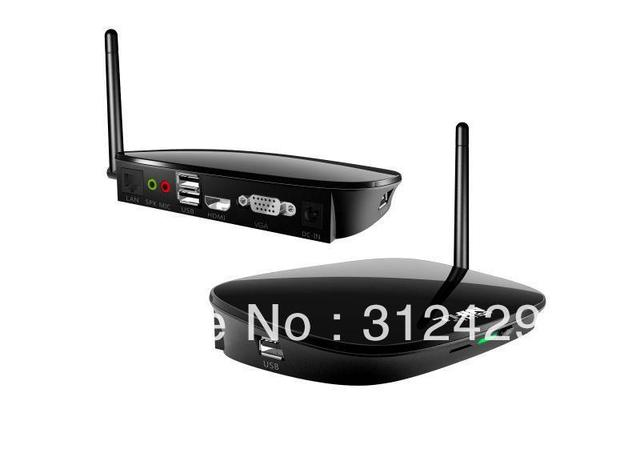 WIFI ,fanless zero clients RAM 512MB to 1GB pc station FOX-300H with Linux 2.6 OS and 100 MB Wifi