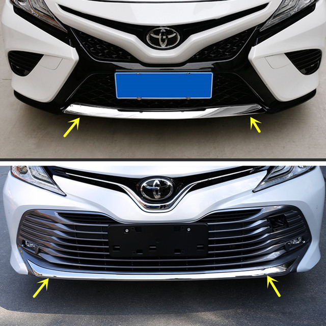 New Chrome Front Bumper Cover Lower Trim Lip For Toyota