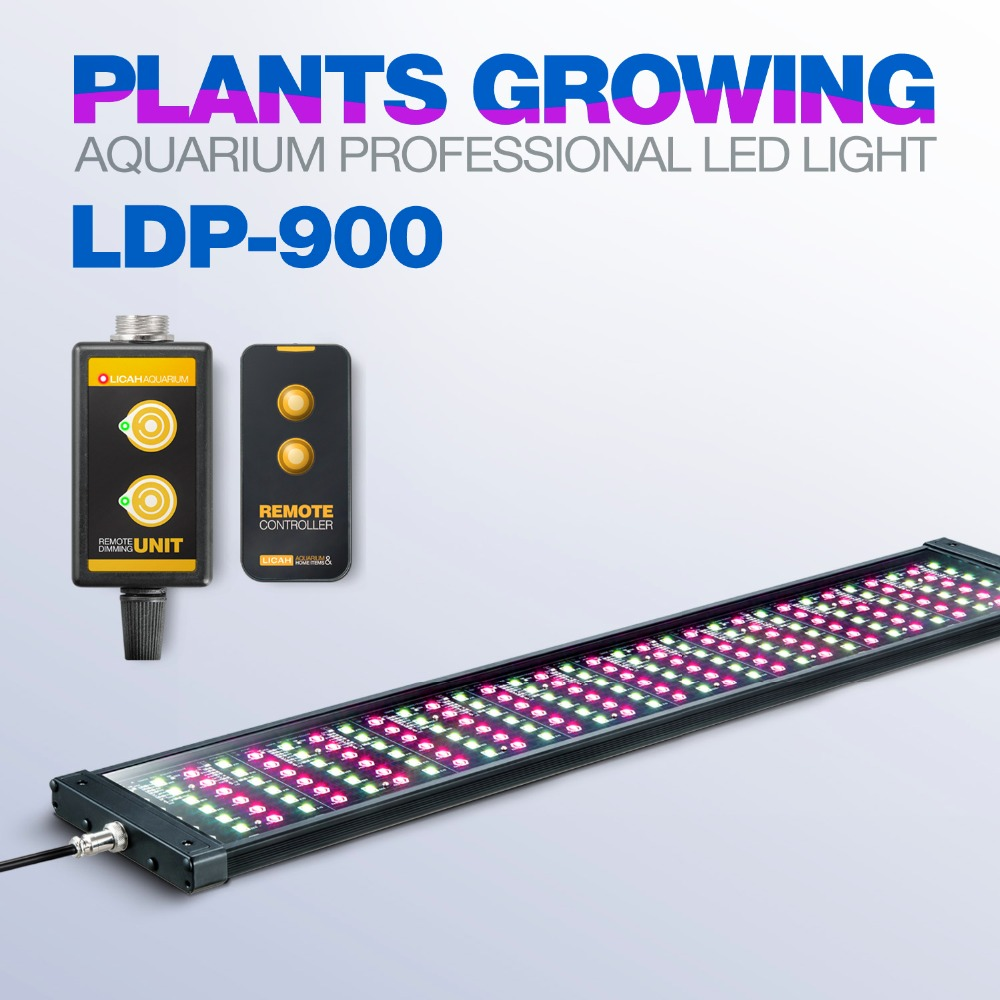 LICAH Fresh Water Aquarium Plant LED LIGHT LDP 900 Free Shpping