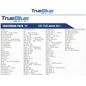 Image 4 - HOBBYINRC 64G True Blue Mini Crackhead Pack 101 Spiele + 64G Meth Pack 101 Spiele + 32G kampf Pack 58 Spiele für PlayStation Klassische