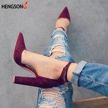 2017 высокий каблук женские сандалии Демисезонный стадо Обувь женские туфли-лодочки Sexy Thin Air Каблучки женская обувь Кружево до