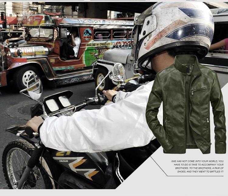 HTB1CA03B3KTBuNkSne1q6yJoXXaO DAVYDAISY 2019 High Quality PU Leather Jackets Men Autumn Solid Stand Collar Fashion Men Jacket Jaqueta Masculina 5XL DCT-245