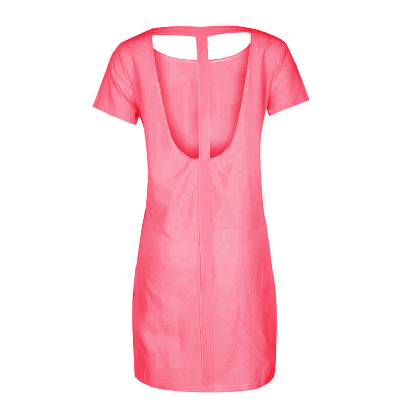 LOHILL 2017 Vrouwen Zomer Sexy Spaghetti Ruglooze Celebrity Bandage Jurken Night Club Party Mini Jurk Vestido