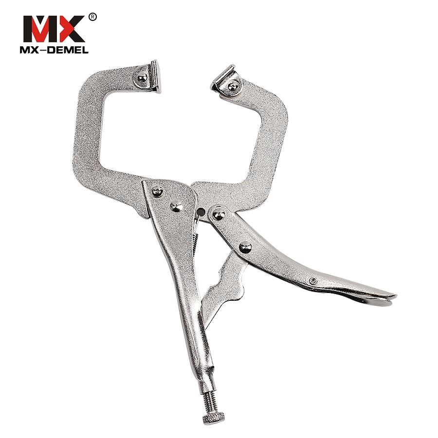 Werkzeuge Neueste Kollektion Von Mx-demel 6 Zoll 9 Zoll 12 Zoll C-typ High-carbon Stahl Zange Schweißen Clamp Manuelle Zange Hand Werkzeuge Spannwerkzeuge Handwerkzeuge