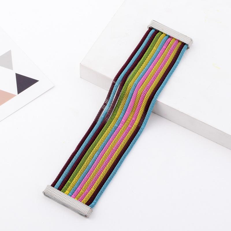 Красочный браслет разноцветные ранние браслеты для женщин 2018