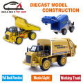 Boys Toys for children, Diecast Caterpillar Scale Model, Miniature Highway Dump Truck Replica With Function/Music/Light/Box