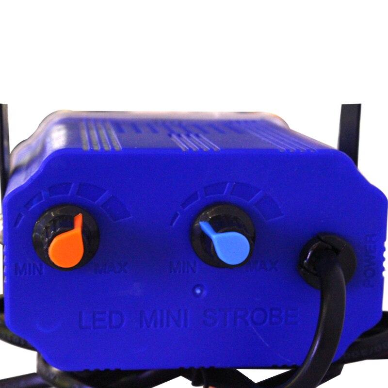 Mini 36 LED Bühnenbeleuchtung Strobe Effekt DJ Disco Licht Sound - Kommerzielle Beleuchtung - Foto 4
