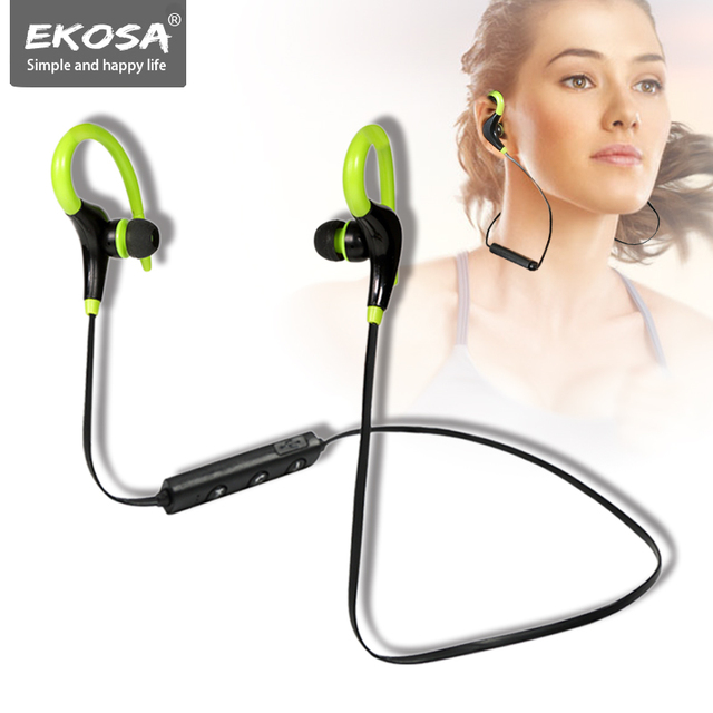 Bluetooth Earphone Headphone With Mic Wireless Earphones Headphones Kulaklik Kulakl K Ear Phones Hook Phone Sport Auriculares