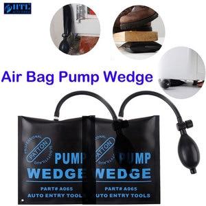 Image 5 - Bomba multifunción de cuña para cerrajero, herramienta de Airbag de cuña de aire para coche, juego de ganzúas, cierre de puerta de coche abierto