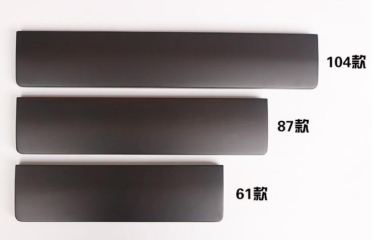Wooden Wrist Rest Walnut Wenge  wood  feet for mechanical keyboards gh60 xd60 xd64 80% 87 100% 104 xd84 tada68