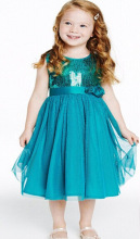 Free shipping Fashion Baby Girls Clothing Sequin sleeveless Cocktail Dresses ball gown Bow Formal Dress princess dress