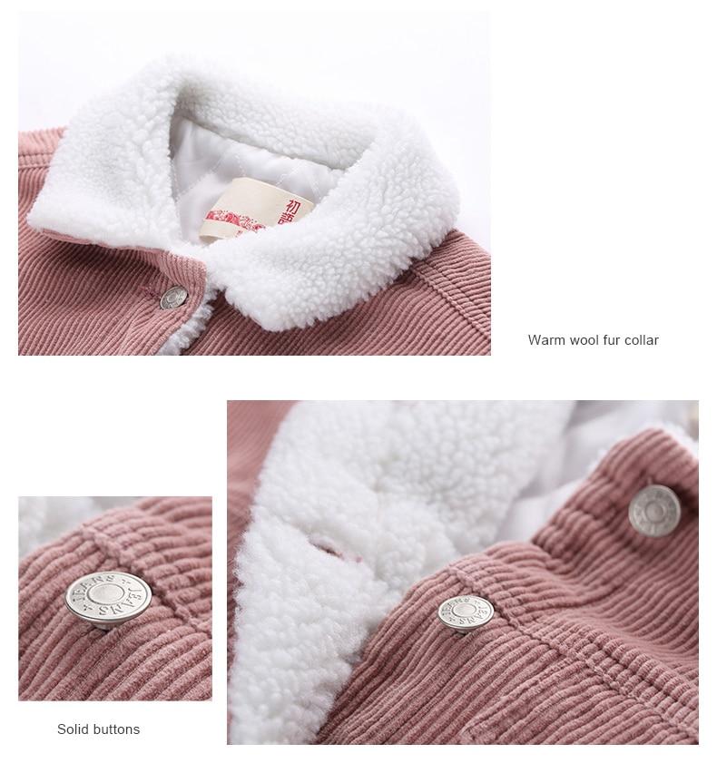 HTB1CA1vfHsTMeJjy1zeq6AOCVXaB Toyouth Autumn Winter Corduroy Basic Jacket Lambswool Bomber Jacket Women Long Sleeve Jacket Casual Single Breasted Denim Jacket