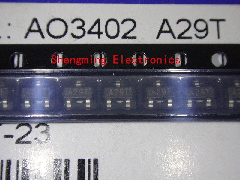 100 шт. AO3402 A29T MOS СОТ-23