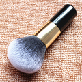 Super Soft Big Powder Brush Foundation Blush Face Makeup Brushes Cosmetic Tool Collection Black Handle
