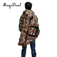 MagiDeal Archery Hunting Canvas Compound Bow Bag Holder Carry Case with Arrow Pocket Handle & Straps 95 x 41cm/ 115 x 45cm