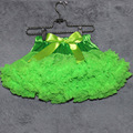 Teen and women pettiskirt Neon Green Skirt  flully chiffon tutu skirt kid Tutu skirts factory offer girl skirt tutu