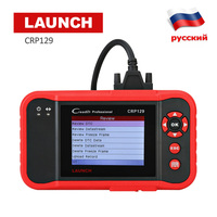 2018 new OBD2 scanner Launch CRP129 Creader ENG/AT/ABS/SRS Code Reader car diagnostics OBD 2/ EOBD auto scanner in Russian