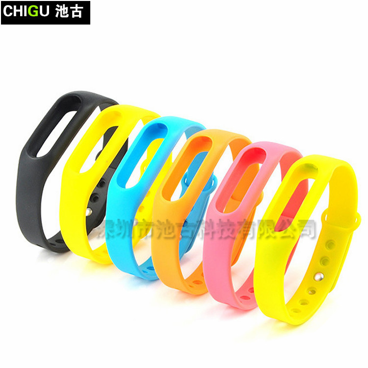 1 For Xiaomi Mi Band 2 New Replacement Colorful Wristband Band Strap Bracelet Wrist Strap F2 AR2448 181030 jia wristband watch 2018 replacement band strap metal case cover for xiaomi mi band 2 bracelet 0703