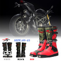 Probiker Motorcycle Boots Moto Racing Speed Motocross Motorbike Shoes Motorcycle Boots Botas Out Doorsport Shoes Free Shipping