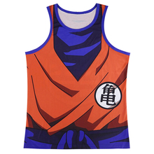 Men Dragon Ball Z Goku 3D Vest Vegeta Cosplay Tank Top Sleeveless Summer