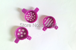 Modeling Caps of soft ice cream machine Spare parts Magic Output Heads for Fancy Ice Cream Making 3 pcs One Set