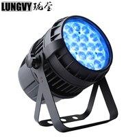 Free Shipping 12pcs/lot 19x12W RGBW Outdoor Led Zoom Par Light Professional Design LED Par Par Can Stage Light