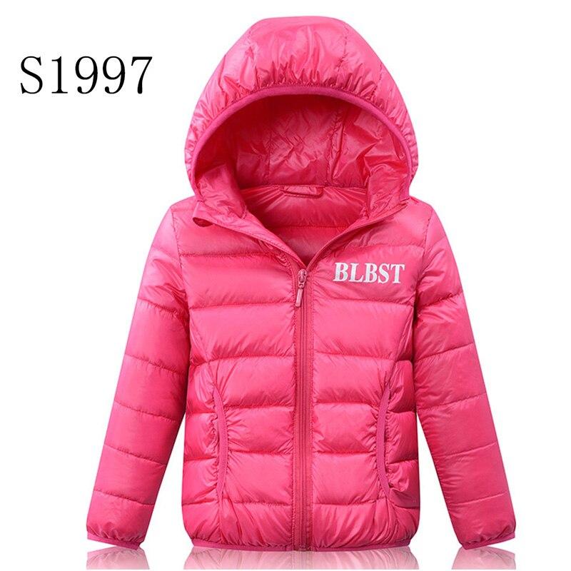 3-16T Kid Hot Sale Kids Winter Coat Feather Cotton Baby Girl Clothing Jacket Boy Solid Patchwork Zipper Hooded Short Parkas dunlop winter maxx wm01 205 65 r15 t