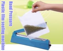 AC 220 В 200 Ручной давления PP PE Уплотнитель полиэтиленовая пленка ручная машина запечатывания упаковки машина